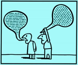talking too much ineffective communicator