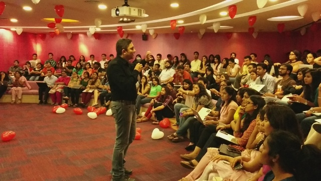 Akash Gautam's session at Google India
